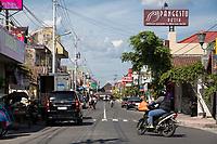 Yogyakarta, Java, Indonesia.  Street Scene.