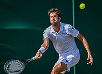 London, England, 3 th. July, 2018, Tennis,  Wimbledon, Robin Haase (NED)<br /> Photo: Henk Koster/tennisimages.com