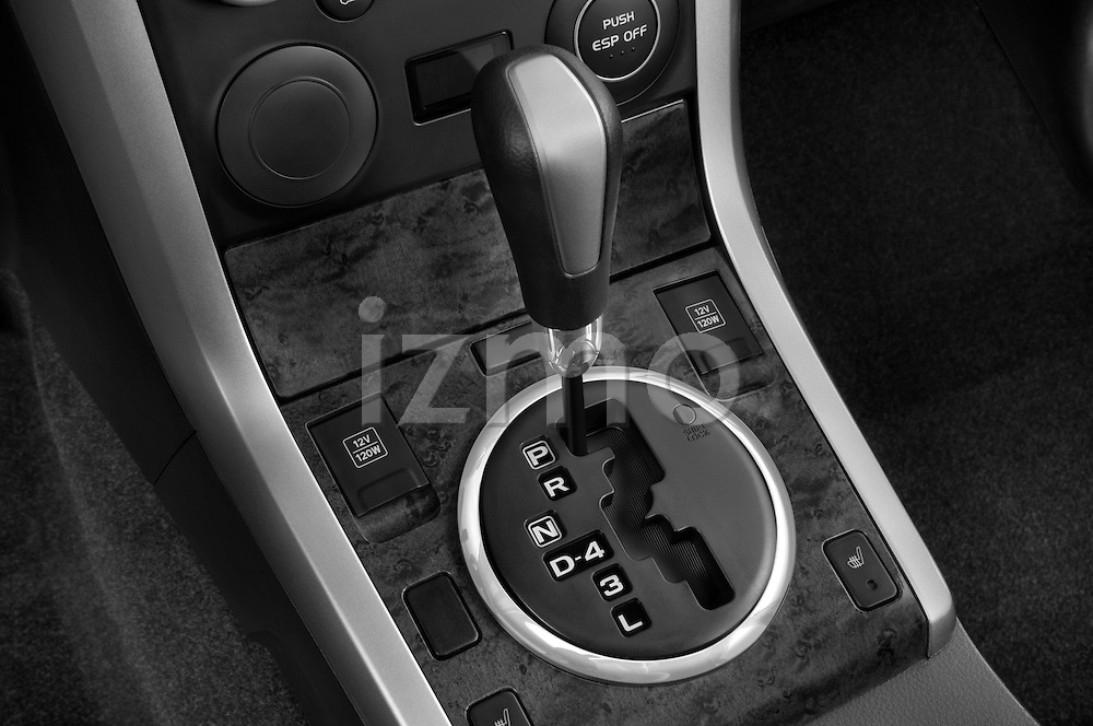 Gear shift detail view of a 2009 Suzuki Grand Vitara