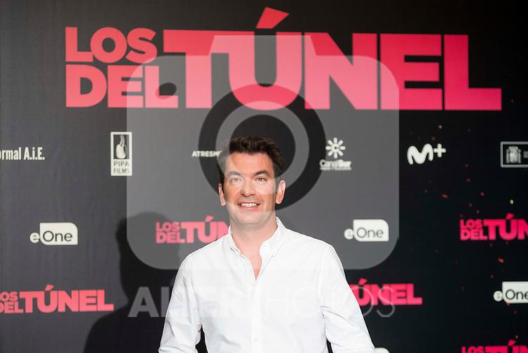 "Arturo Valls attends to the junket of the film ""Los del Tunel"" at Palafox Cinema in Madrid, Spain. January 17, 2017. (ALTERPHOTOS/BorjaB.Hojas)"