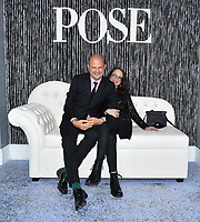 """NEW YORK - APRIL 29: Executive Producers Brad Simpson and Nina Jacobson attend the Red Carpet Premiere of the 3rd and Final season of FX's """"POSE"""" at Jazz at Lincoln Center in New York City on April 28, 2021. Photo by Stephen Lovekin/FX/PictureGroup)"""