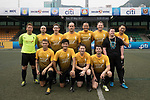 SCC Tigers (in yellow) vs HKFC Masters (in navy blue) during their Masters Tournament match, part of the HKFC Citi Soccer Sevens 2017 on 27 May 2017 at the Hong Kong Football Club, Hong Kong, China. Photo by Chris Wong / Power Sport Images
