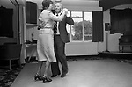 Didsbury Golf Club, near Manchester 1981. Middle England, Middle Class, Middle Age 1980s UK. Afternoon Tea Dance.
