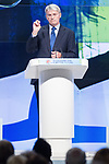 © Joel Goodman - 07973 332324  . 02/10/2011 . Manchester, UK . ANDREW MITCHELL speaks at the 2011 Conservative Party Conference at the Manchester Central Convention Centre (formerly GMex) . Photo credit: Joel Goodman