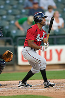 Patterson, Corey 4905.jpg. Nashville Sounds at Round Rock Express. August 27th, 2009 at the Dell Diamond in Round Rock, Texas. Photo by Andrew Woolley.