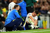 26th August 2021; Tottenham Hotspur Stadium, London, England; Europa Conference League football, Tottenham Hotspur versus Paços de Ferreira; Giovani Lo Celso of Tottenham Hotspur receives treatment