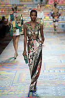 Dolce & Gabbana Spring 2021 Ready-to-Wear fashion show at Milan Fashion Week, Milano, Italy in September 2020.<br /> CAP/GOL<br /> ©GOL/Capital Pictures