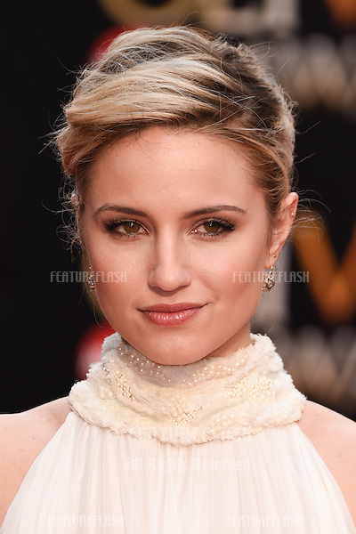 Dianne Agron arrives for the Olivier Awards 2015 at the Royal Opera House Covent Garden, London. 12/04/2015 Picture by: Steve Vas / Featureflash