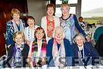 Senior Citizens annual social in the Skellig hotel, Dingle, last Sunday organised by the West Kerry Care of the Aged  enjoying themselves were, seated, L-R Eileen Dowd&Beatrice O'Connor, Castlegregory, Sadie Fitzgerald&Amelia Day, Camp, back, L-R Eileen McHugh&Noreen Cronin, Maherees with Hazel Evans&Eileen O'Shea, Camp.
