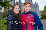 Enjoying a stroll in the Killarney National park on Sunday, l to r: Michelle Green and Finbar Casey.