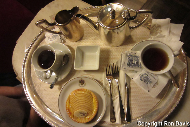 Florian's cafe in Piazza San Marco was one of the favorite haunts of 19th century literary figures such as Byron, Dickens, and Proust