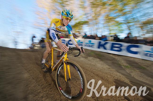 Corne Van Kessel (BEL)<br /> <br /> Vlaamse Duinencross Koksijde 2013
