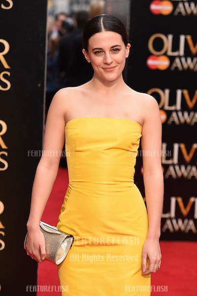 Pheobe Fox arrives for the Olivier Awards 2015 at the Royal Opera House Covent Garden, London. 12/04/2015 Picture by: Steve Vas / Featureflash