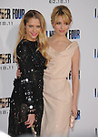 Dianna Agron and Teresa Palmer attends the Dreamworks' World Premiere of I Am Number Four held at The Village Theater in Westwood, California on February 09,2011                                                                               © 2010 DVS / Hollywood Press Agency