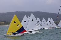 BARRANQUILLA - COLOMBIA, 24-07-2018: Equipos de varios paises durante su participación en las competencias de Vela  hombres, como parte de los Juegos Centroamericanos y del Caribe Barranquilla 2018. /  xxx during his participation in the competitions of sailing, men's table mode, as a part of the Central American and Caribbean Sports Games Barranquilla 2018. Photo: VizzorImage / Cont