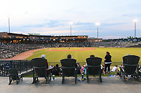 Photo from Opening Night 2021 at Segra Park, home of the Low-A East Columbia Fireflies on Tuesday, May 11, 2021, at Segra Park in Columbia, South Carolina. (Tom Priddy/Four Seam Images)