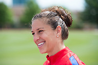 Dallas, TX - April 4, 2017: The USWNT trains in preparation for a pair of friendlies against Russia.
