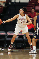STANFORD, CA - NOVEMBER 1:  Ashley Cimino of the Stanford Cardinal during Stanford's 107-49 win over Vanguard on November 8, 2009 at Maples Pavilion in Stanford, California.