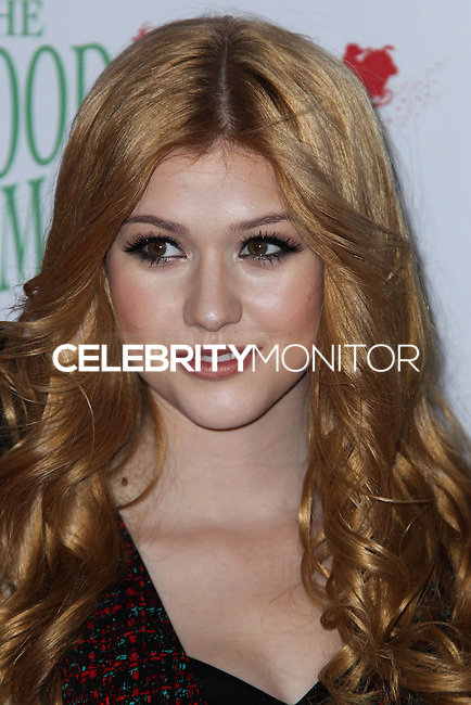 HOLLYWOOD, CA - DECEMBER 01: Katherine McNamara arriving at the 82nd Annual Hollywood Christmas Parade held at Hollywood Boulevard on December 1, 2013 in Hollywood, California. (Photo by Xavier Collin/Celebrity Monitor)