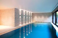 Interior luxury pool area