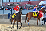 HOT SPRINGS, AR - APRIL 14:Count Fleet Sprint Handicap. Oaklawn Park on April 14, 2018 in Hot Springs,Arkansas. #6 Smart Spree with jockey Ramon A. Vazquez and #5 Wilbo with jockey David Cabrera  (Photo by Ted McClenning/Eclipse Sportswire/Getty Images)