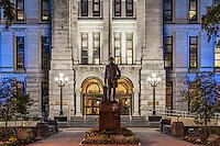 Erie County Hall building exterior, Buffalo, New York, USA