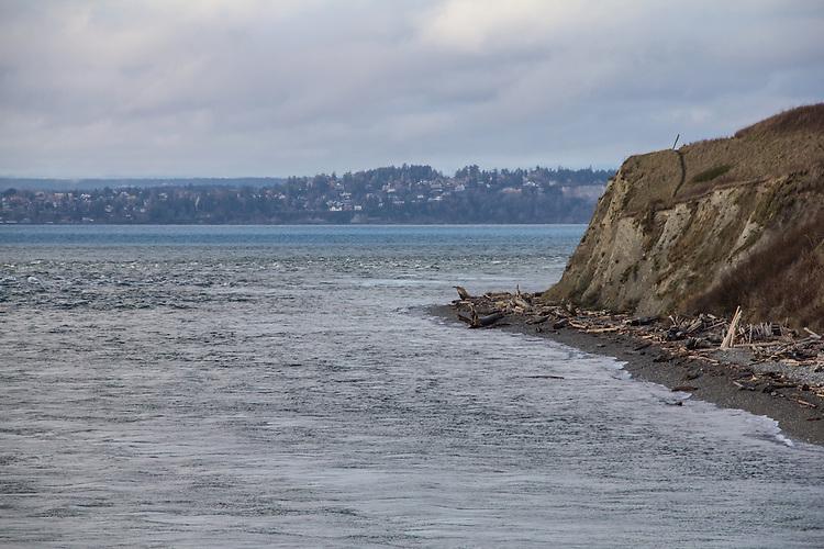 Puget Sound, Admiralty Inlet, Keystone, Admiralty Head, tide rip, Salish Sea, Washington State, Pacific Northwest, USA,