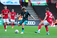 George Byers of Swansea City in action during the Sky Bet Championship match between Bristol City and Swansea City at Ashton Gate in Bristol, England, UK. Saturday 21 September 2019