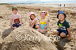 Enjoying the beach in Ballyheigue on Tuesday, l to r: Donnacha Hennessy, Leah, Conor and June McMahon from Glin, Co Limerick.