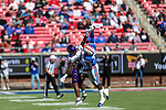 East Carolina Pirates wide receiver Jsi Hatfield (88) in action during the game between the East Caroline Pirates  and the SMU Mustangs at the Gerald J. Ford Stadium in Fort Worth, Texas.