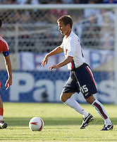 Jesse Marsch looks to pass. The USA defeated China, 4-1, in an international friendly at Spartan Stadium, San Jose, CA on June 2, 2007.