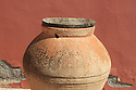 Red clay pot from the Cappodocchia region of Turkey.