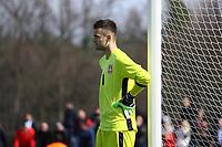 Marko Ilic (Serbien) - 25.03.2017: U19 Deutschland vs. Serbien, Sportpark Kelsterbach