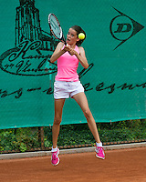 August 4, 2014, Netherlands, Dordrecht, TC Dash 35, Tennis, National Junior Championships, NJK,  Natasja Dragic   <br /> Photo: Tennisimages/Henk Koster