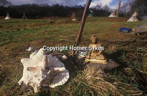 Tipi Valley Wales 1980s UK