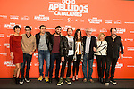 "Full cast during the presentation of the film ""Ocho Apellidos Catalanes"" in Madrid, November 17, 2015.<br /> (ALTERPHOTOS/BorjaB.Hojas)"