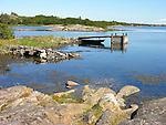 Peaceful Harbor on Island of Kökar, Åland, Finland