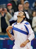 Tenis, Serbia Open 2011.Final.Novak Djokovic (SRB) Vs. Feliciano Lopez (ESP).Novak Djokovic, celebrate.Beograd, 01.05.2011..foto: Srdjan Stevanovic