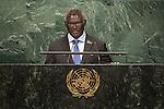Solomon Islands<br /> H.E. Mr. Manasseh Sogavare<br /> Prime Minister<br /> <br /> General Assembly Seventy-first session, 17th plenary meeting<br /> General Debate