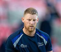 4th June 2021; AJ Bell Stadium, Salford, Lancashire, England; English Premiership Rugby, Sale Sharks versus Harlequins;   Rob du Preez of Sale Sharks warms up