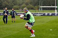 James Tyas of London Scottish during the Greene King IPA Championship match between London Scottish Football Club and Ampthill RUFC at Richmond Athletic Ground, Richmond, United Kingdom on 26 October 2019. Photo by Carlton Myrie.