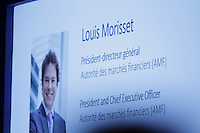 Louis Morisset, <br /> President and Chief Executive Officer, Autoritée des marches F inanciers (AMF) <br /> attend the the 22nd edition of the Conference of Montreal, held June 13 to 15, 2016<br /> <br /> PHOTO : Pierre Roussel -  Agence Quebec Presse