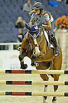 Elizabeth Rae Participates in the $20,000 Gamblers Choice Costume Jump at The 53rd annual Washington International Horse Show at the Verizon Center in  Washington D.C. on 10/27/11 (Ryan Lasek / Eclipse Sportwire)