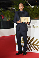 CANNES, FRANCE. July 17, 2021: Apichatpong Weerasethakul at the photocall for Cannes Awards 2021 at the 74th Festival de Cannes.<br /> Picture: Paul Smith / Featureflash