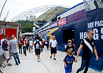 Action on Day 2 of the Cathay Pacific / HSBC Hong Kong Sevens 2013 on 23 March 2013 at Hong Kong Stadium, Hong Kong. Photo by Manuel Queimadelos / The Power of Sport Images