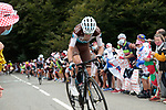 Romain Bardet (FRA) AG2R La Mondiale climbs Col de Marie Blanque during Stage 9 of Tour de France 2020, running 153km from Pau to Laruns, France. 6th September 2020. <br /> Picture: Colin Flockton   Cyclefile<br /> All photos usage must carry mandatory copyright credit (© Cyclefile   Colin Flockton)