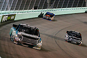 NASCAR Camping World Truck Series<br /> Ford EcoBoost 200<br /> Homestead-Miami Speedway, Homestead, FL USA<br /> Friday 17 November 2017<br /> Ryan Truex, Chiba Toyopet Toyota Tundra and Noah Gragson, Switch Toyota Tundra<br /> World Copyright: Russell LaBounty<br /> LAT Images
