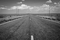 New Mexico Highway 156 east of Santa Rosa was once part of Route 66 between Santa Rosa and Cuervo.