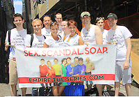 06-24-12 NYC Gay Pride Parade - Lauren & Yvonne & cast Empire The Series March