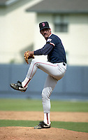 Boston Red Sox pitcher Danny Darwin during Spring Training circa 1992 at Chain of Lakes Park in Winter Haven, Florida.  (MJA/Four Seam Images)